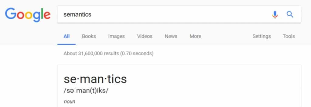 Latent Semantic Processing and SEO