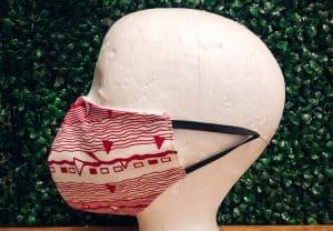 Tribal Wave Mask